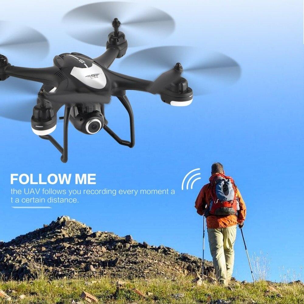 SJ R/C S30W г 2,4 г двойной gps позиционирования FPV системы RC Quadcopter Дрон с P 720 P Регулируемый широкий формат Wi Fi камера Follow Me зависания