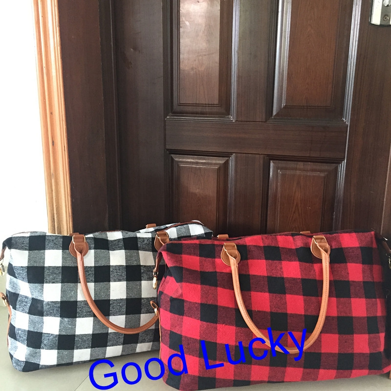 0e17473b15cb Buy duffle bag plaid and get free shipping on AliExpress.com