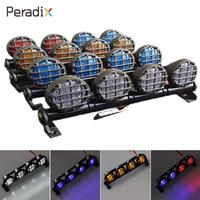 Peradix Lamp Led 6V Metal Headlights Climbing Car Toys Parts