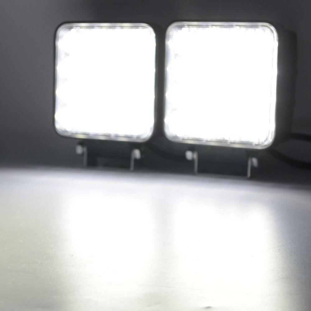 1x Safego 48W світлодіодні робочі ліхтарі - Автомобільні фари - фото 3