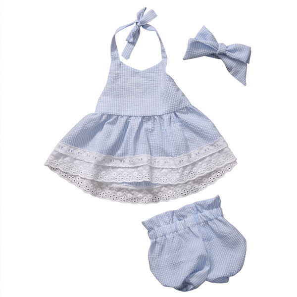 Summer Toddler Kid Baby Girl Clothes Set Blue Cute Children Clothing Girls Costume T-shirt Short Pants 2PCS Cotton Outfits Set free shipping children outerwear baby girl clothes baby born costume fleece topolino cute toddler girl clothes cheap baby cloth