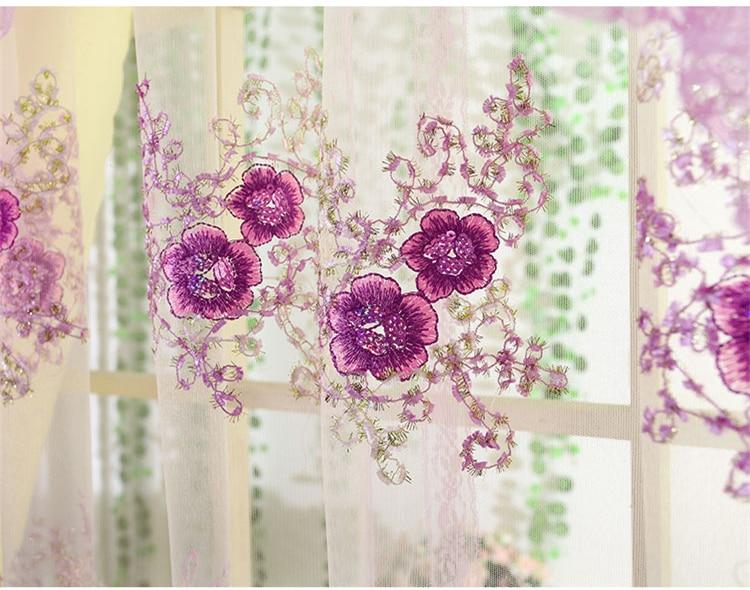 Senisaihon cortinas de renda e laços, cortina