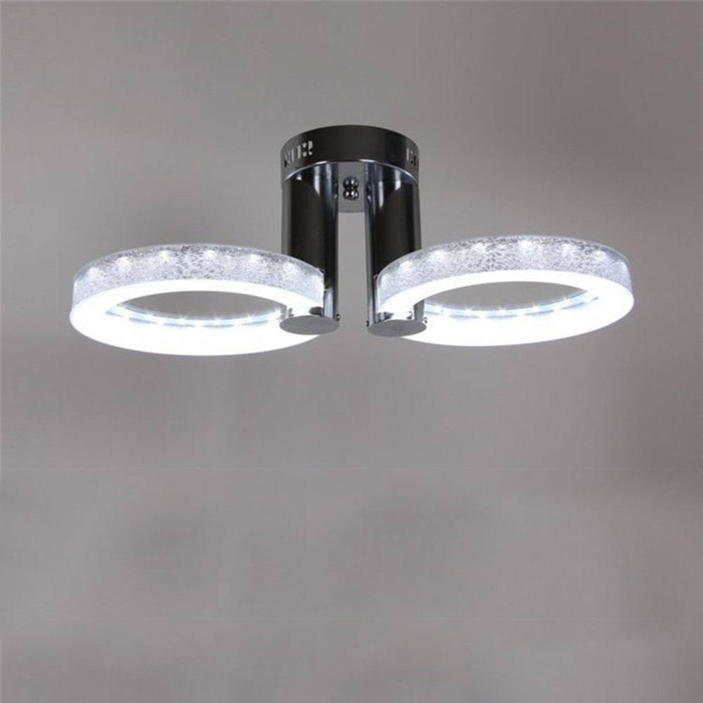 led lights acrylic ceiling living room bedroom study room ceiling lamps  minimalist restaurant round modern led lights for home modern led lamps round crystal chandeliers bedroom living room lights drawing lights warm room restaurant bedroom lamps