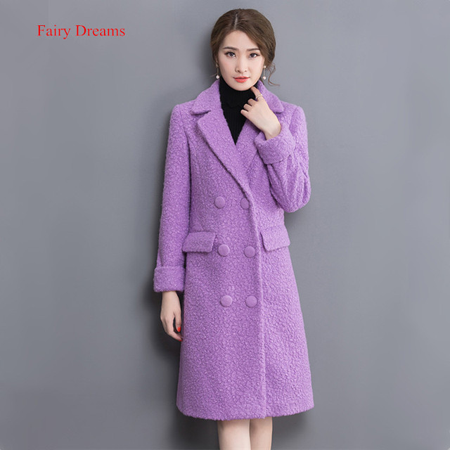 Aliexpress.com : Buy Fairy Dreams Women Winter Woollen Coat 2017 ...