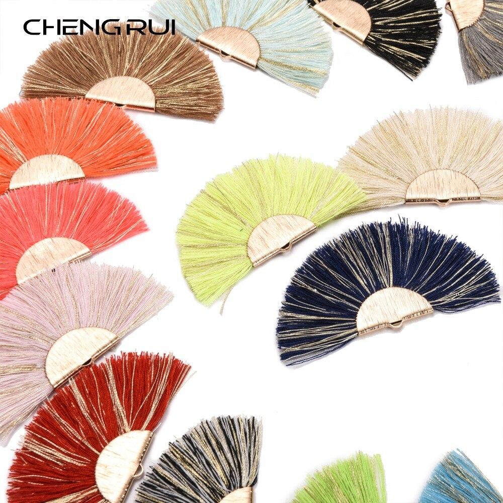CHENGRUI L139,7cm,tassel,cotton tassels,decorative tassels,tassel decoration.earring findings,diy accessories,fringe,2pcs/bag