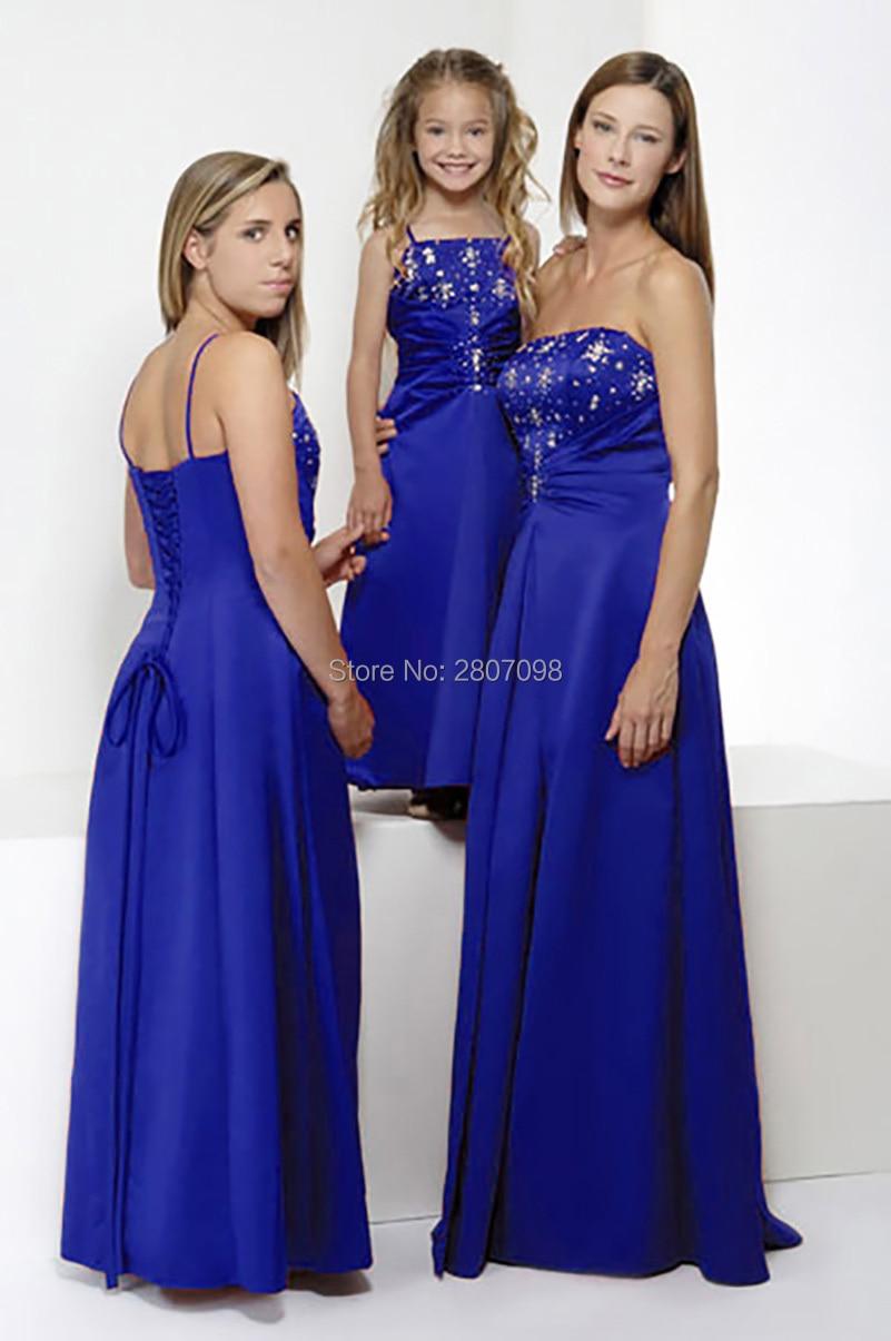 Fantástico Tiffany Barato Vestidos De Dama De Honor Azul Viñeta ...