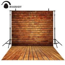 Allenjoy การถ่ายภาพพื้นหลัง VINTAGE Brick Wall Professional Photo Studio Theme ฉากหลังกล้อง fotografica