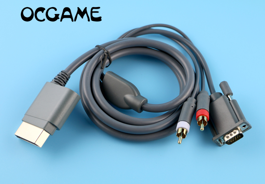 OCGAME High quality VGA Cable Cord Connecter HD Video AV PC Monitor ...