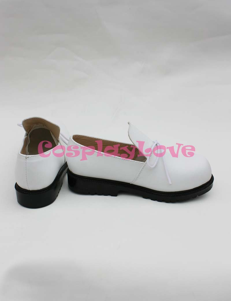 Wonderful Wonder World Boris Cosplay Shoes Boots White Hand Made Custom  made For Halloween Christmas Festival CosplayLove-in Shoes from Novelty &  Special ...