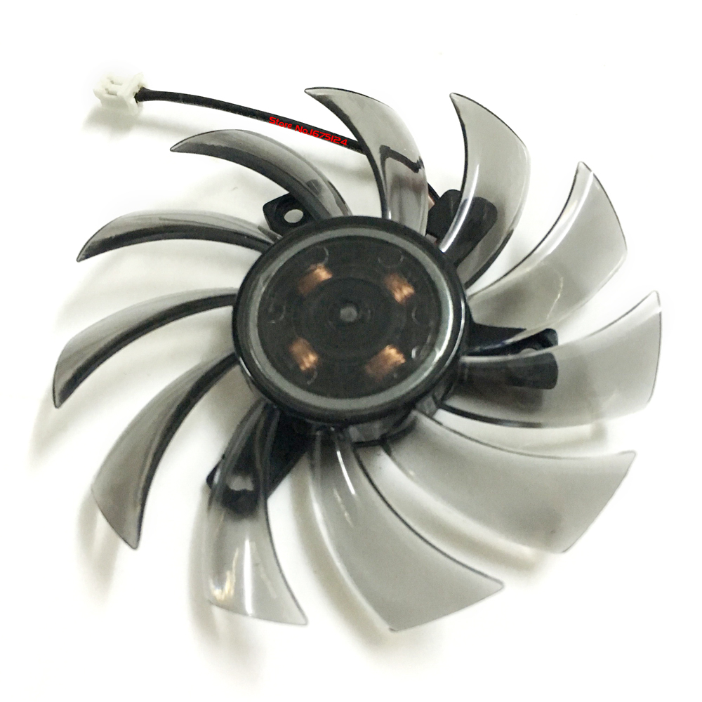 R7-250/240 GPU VGA Cooler Video Card Fan For Sapphire R7 250 2G D5 R7 240 2G D3 Graphics Cooling free shipping diameter 75mm computer vga cooler video card fan for his r7 260x hd5870 5850 graphics card cooling