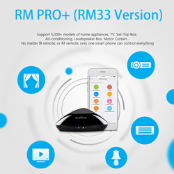 2018 Broadlink RM Pro+ WIFI+IR+RF Universal Intelligent Remote Control Switch for iphone IOS Android Smart home Automation