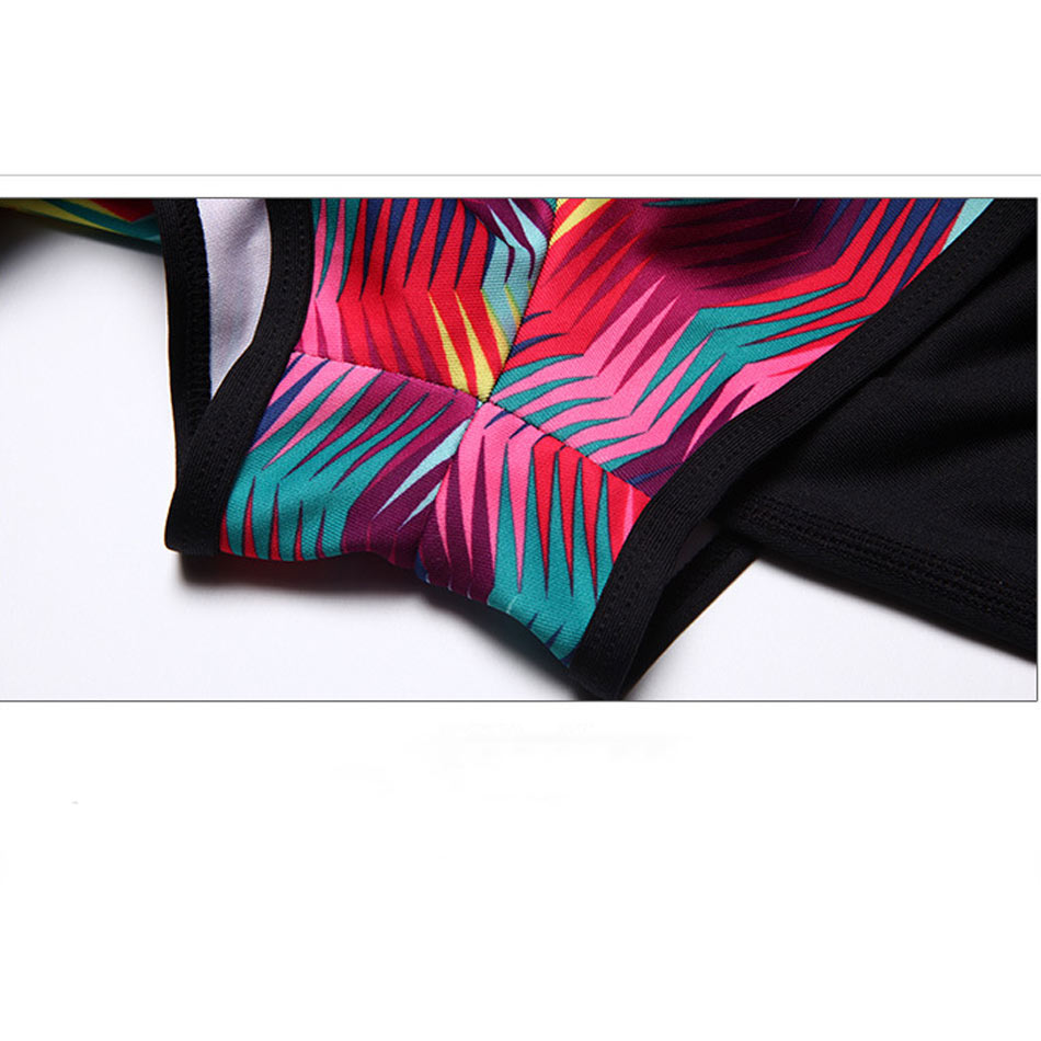 de61ba65b3 2016 New Workout Skirted Leggings Fake Two Piece Shorts Colorful Stripe  Compression Running Tights Sport Woman Yoga Pants-in Running Socks from  Sports ...