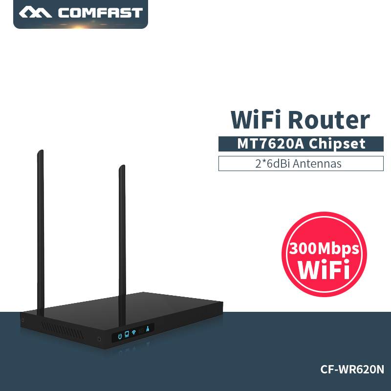 Comfast CF-WR620N 300Mbps AC Credential administrative router MTK7620A WIFI  Router Repetidor 14dBi Antenna AC Roteador administrative challenges facing public secondary schools