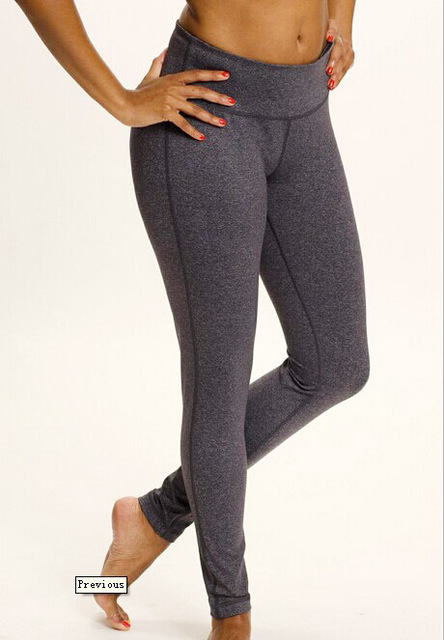 89b92e47c5 Women active brief polyester tight yoga pants elastic waist quick casual  pants for running work out