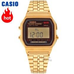 Casio watch Analogue Men's Quartz Sports Watch Trend retro small gold watch