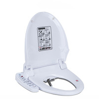Интеллектуальное сиденье на унитаз с подогревом умное биде сиденье для унитаза WC Sitz шкаф для воды Автоматическая Крышка туалета покрытие ж