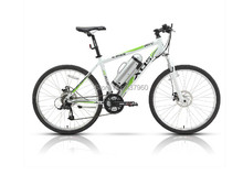 26 inch electric mountain bike electric bicycle  24speed Power biccyclle  36V lithium battery 250W motor drive
