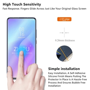 "Image 3 - 2 Pcs Tempered Glass For Xiaomi Mi 9T Screen Protector 2.5D 9H Tempered Glass For Xiaomi Mi 9T Pro Mi9T Protective Film 6.39"""