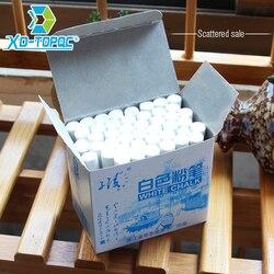 XinDi Беспыльные белые мелки для рисования для школьного образования мелки высокого качества канцелярский офисный маркер белый Tizas CK03