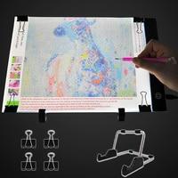 A5/A4/A3 Zeichnung Tablet Bord USB Powered Dimmbare LED Licht Pad mit Optional Steht für Zeichnung, tracing, Diamant Malerei