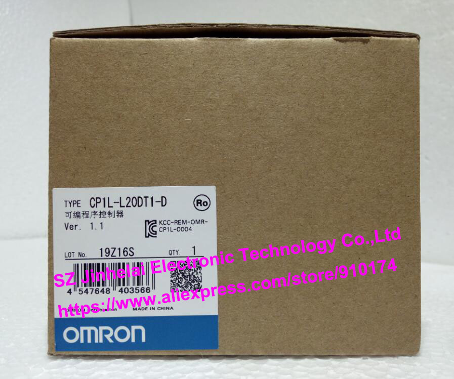 100% New and original  CP1L-L20DT1-D  OMRON PLC CONTROLLER [zob] 100% new original omron omron proximity switch e2e x10d1 n 2m