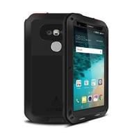 De luxe Pour funda LG G5 Couverture En Métal En Aluminium De Silicium Verre G 5 De Protection Téléphone Armure Pour etui LG G5 Cas Antichoc LGG5 cas