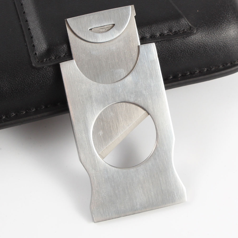 GALINER Pocket Mini Cigar Cutter Sharp Blade Metal Stainless Steel Cigars Cutting Travel Portable Guillotine Cigar Accessory