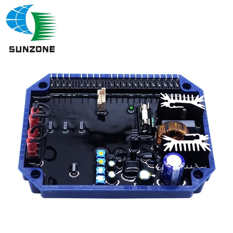 Regulador do alternador DER DER1 Gerador Grupo Gerador Peças AVR Para Mecc Alte AVR Regulador de Tensão DER1