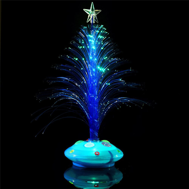 New LED Colorful Changing Mini Christmas Tree Decoration Table Party Charm Desk Decorations Gift for Home decor #4o26#f (18)