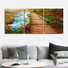 Laeacco Natural Road Wall Artworkwork Posters and Prints Nordic Home Decoration Canvas Painting Baby Bedroom Living Room