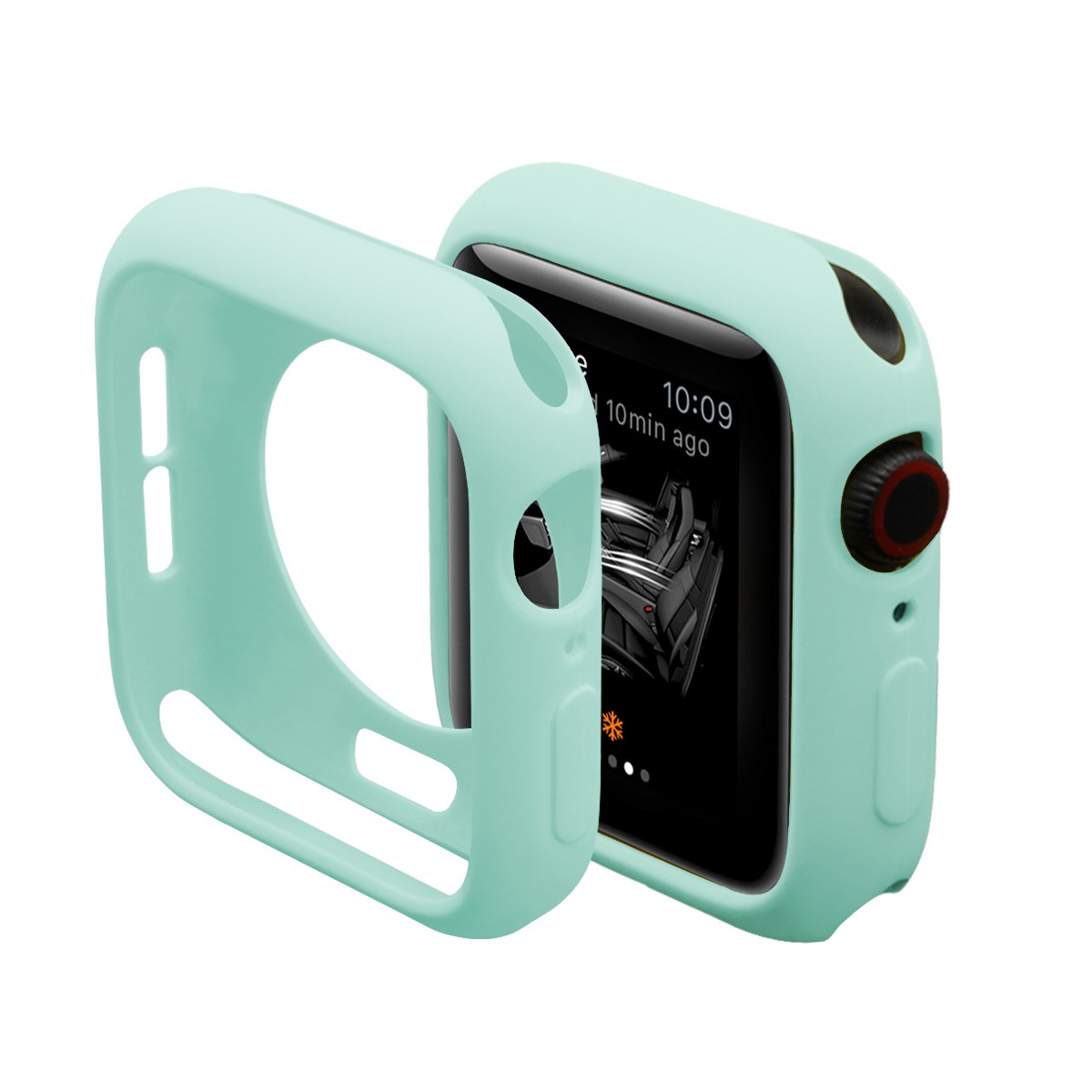 Soft Silicone Case for Apple Watch 55