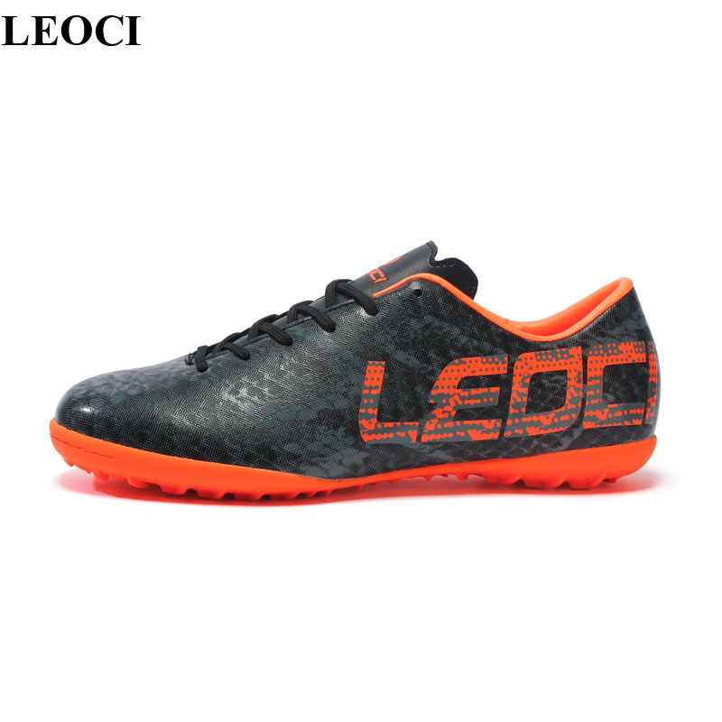 Professional Outdoor Boys Soccer Shoes Waterproof Unisex Athletic Training Football Shoes Sneakers Hard Court Zapatillas Futbol