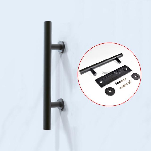 high quality black stainless steel barn door handles pulls u0026 wooden sliding door handle knobs