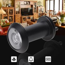 Door Viewer 200 Degree Peephole Home Security Wide Angle Door Eyes Anti-Theft Pure Copper Peephole Digital Door Viewer Decor