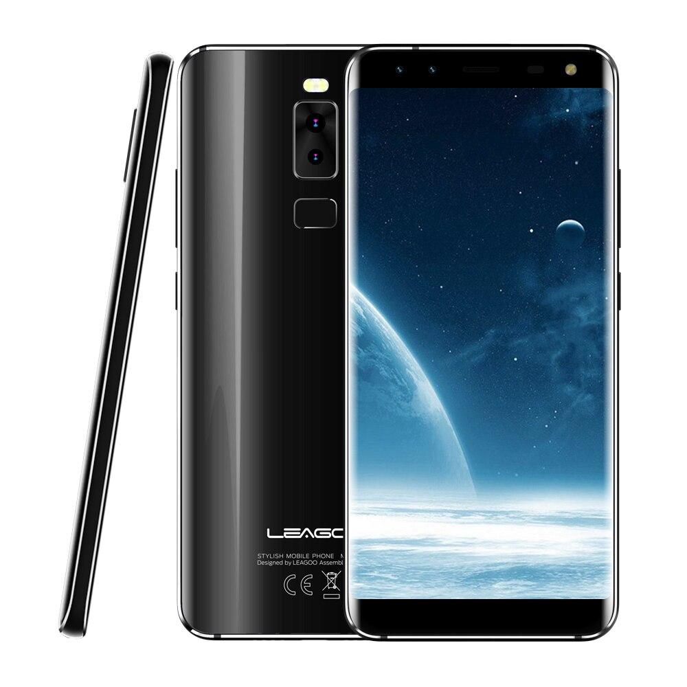 LEAGOO origine S8 4G Phablet Smartphone Android 7.0 5.7 Pouce MTK6750T Octa Core 1.5 GHz 3 GB RAM 32 GB ROM D'empreintes Digitales Reconnaissance