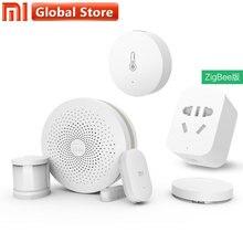 Original Xiao mi Smart-Home-Kits Gateway Version 2 Tür Fenster Sensor Menschlichen Körper Drahtlose Schalter Hu mi dity Zigbee Buchse mi APP