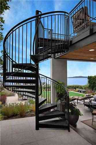 Spiral Staircase For Sale Outdoor Spiral Staircase Stair Post   Metal Staircase For Sale   Prefab   Outdoor   Contemporary   Tangga   Steel Structure