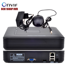Surveillance 8CH NVR ONVIF 2.0 Security Standalone 8CH 1080P/12CH 960P Motion Detection CCTV NVR HDMI Output for IP camera