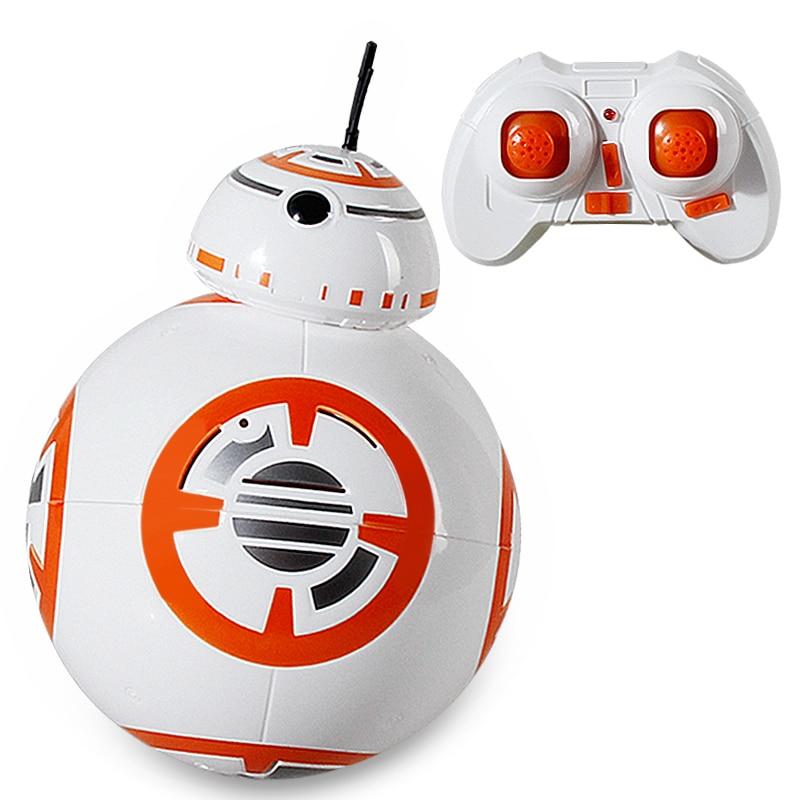 ФОТО Spot BB-8 Star Wars wake up action 2.4G remote control robot toys child souvenir RC smart ball
