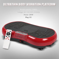 Ultrathin Body Vibration Platform Weight Loss Equipment Vibration Plate Machine Workout Trainer Exercise Machine High Quality
