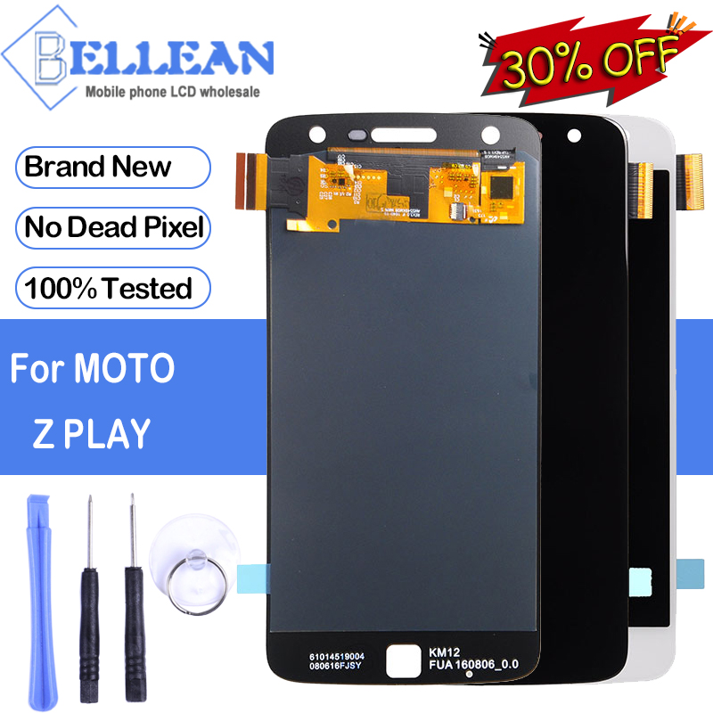 Dinamico Promotion For Motorola <font><b>XT1635</b></font> LCD For Moto Z Play LCD Display With Touch Screen Digitizer Assembly Free Shipping+Tools image