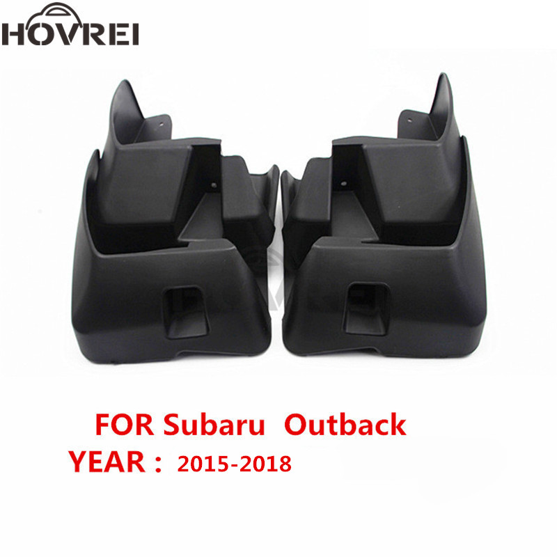 For Subaru Outback 2015 2016 2017 2018 Mudflaps fornt rear Splash Guards Mud Flap Mudguards fender