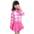 Niños de lana Suéteres Suéter Impresión de la Manera Traje Para Niñas Otoño Invierno Ropa de Los Niños de Dibujos Animados de Manga Larga Jersey de Punto
