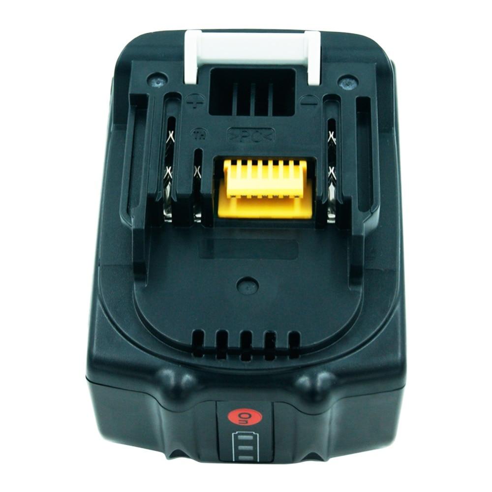 Pour Makita 18 v batterie 6000 mAh BL1860 BL1850 BL1830 Lithium ion Rechargeable outil électrique Batteries lumière LED mise à niveau carte PCB