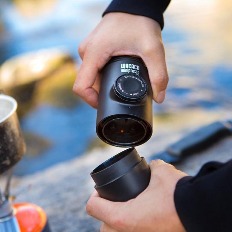 Wacaco Minipresso NS, Portable Espresso Coffee Machine, Compatible NS Capsules*, Small Travel Coffee Maker,Mini coffee machine. 5