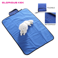 Dog Blanket Waterproof Soft Mat For Large Medium Small Pet Outdoor Travel Picnic Beach Blanket For