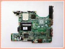 443775 001 สำหรับ HP DV6000 DV6200 DV6300 DV6400 เมนบอร์ดโน้ตบุ๊ค V6000 แบบบูรณาการ DDR2 แล็ปท็อปเมนบอร์ดทดสอบการทำงาน