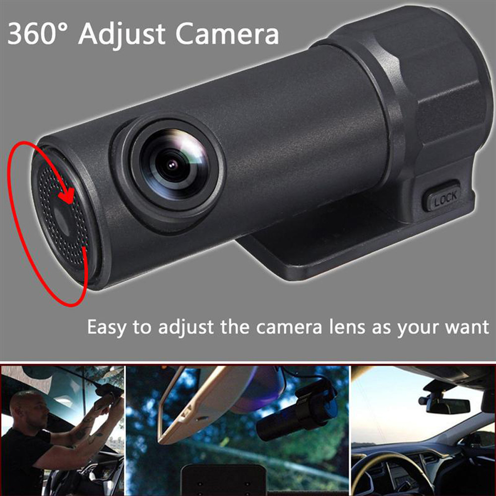 WIFI Car Dashcam Video Recorder Digital Registrar Camcorder Dash Cam CMOS HD Mini Wirele ...