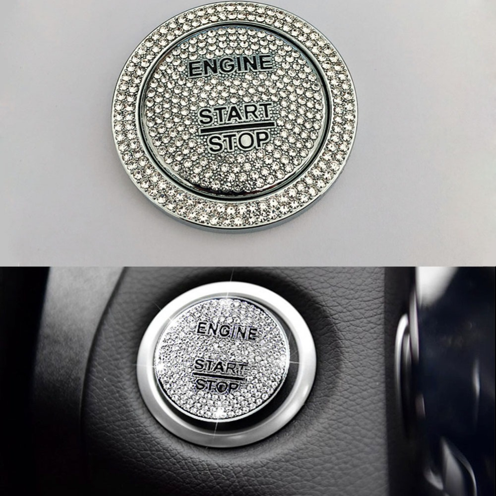 Engine Start Button Frame Trim for Mercedes Benz C E Class W205 W213 GLC