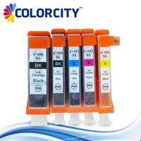 5pcs PGI 550 CLI 551 Ink Cartridge For Canon Pgi 550 Cli 551 PIXMA MG5450 MG5550